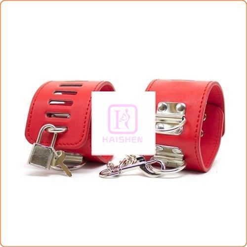 Adjustable Hand & Ankle Cuffs With 3 D Ring