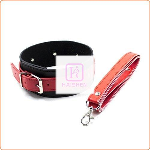 Black And Red Faux Leather Restraint Kit - 3 Piece