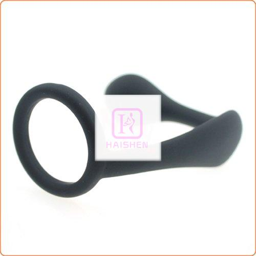 Cock Ring With Prostate Stimulation Plug
