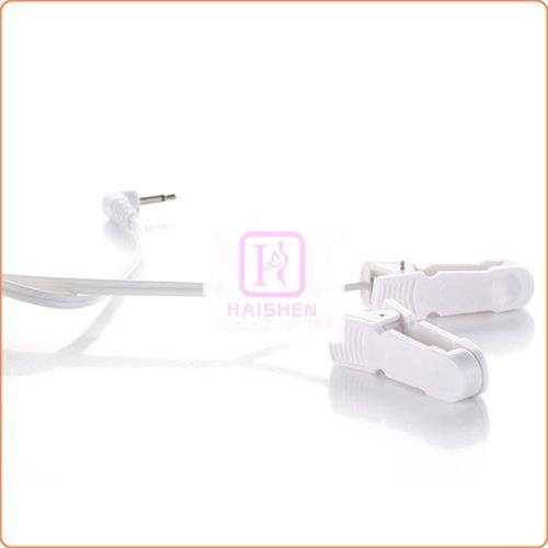 Electro-Stimulation Shock Therapy Nipple Clamp
