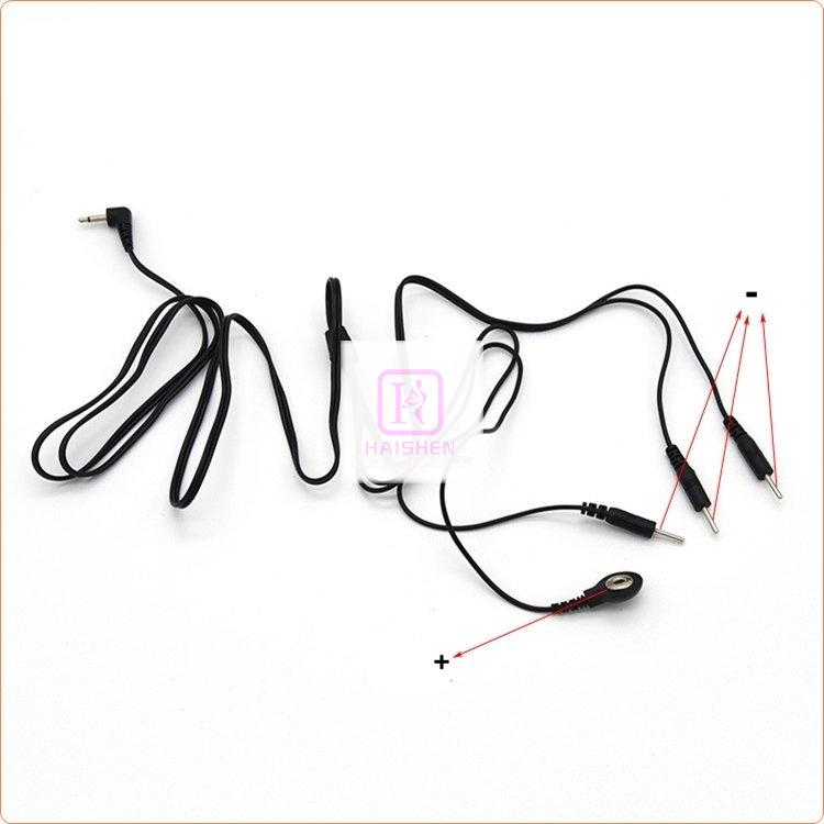 Lead Wires With 1 Snap 3 Pin