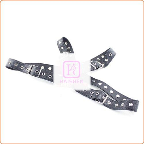 Lichee Pattern Leather Chest Harness