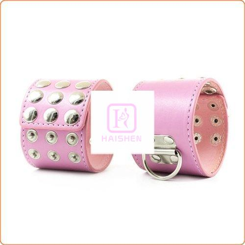 Nails D-Ring Hand & Ankle Cuffs