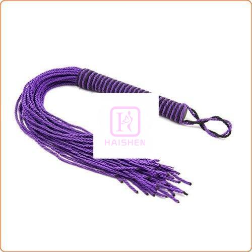Purple Cotton Rope Whip