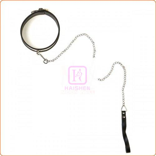 Rapture Steel Band Collar With Leash