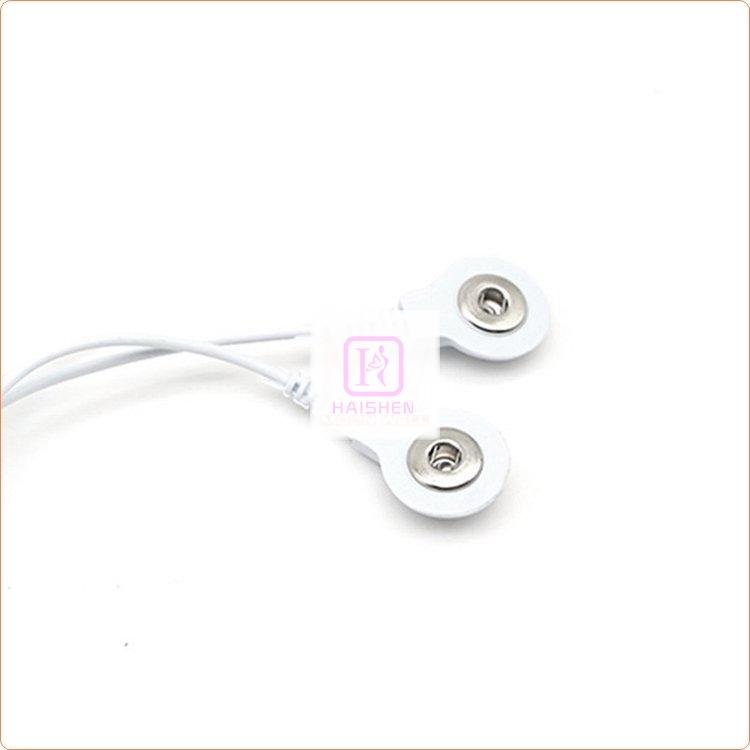 Snap Electrode Lead Wires 2 In 1