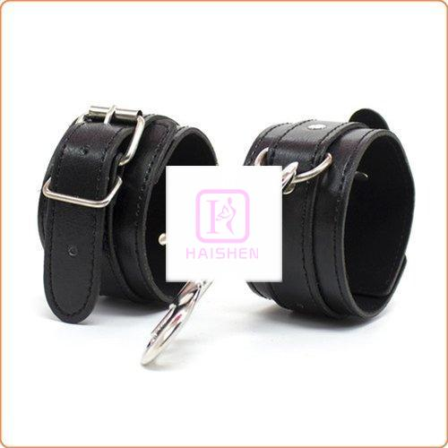Three Nail Pin Buckle Wrist and Ankle Cuffs