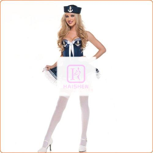 Alluring Sailor Halloween Role Playing Costume