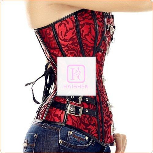 Classic Overbust Buckled Hot Slimming Products Corset