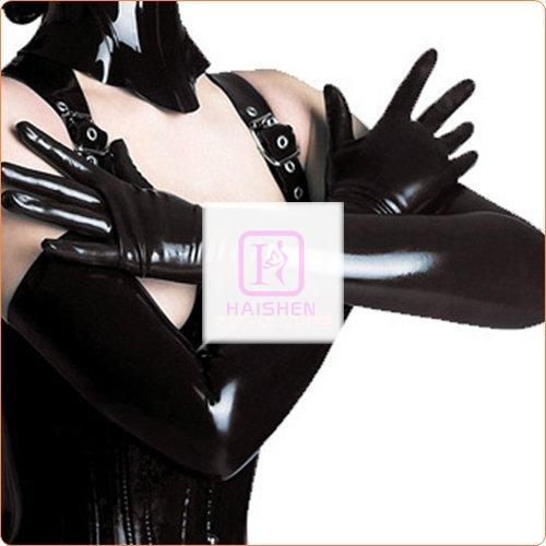 Hot Leather Queen Style Sexy Gloves