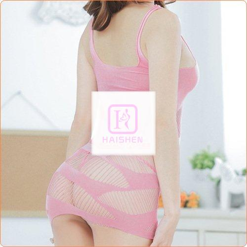 Hot Slim Hollow Out Fish Net Skirt For Ladies