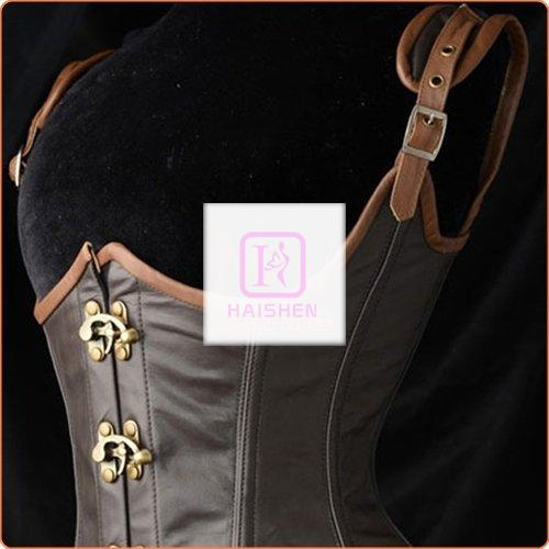 Ladies Strappy Buckled Vest Slimming Products Corset