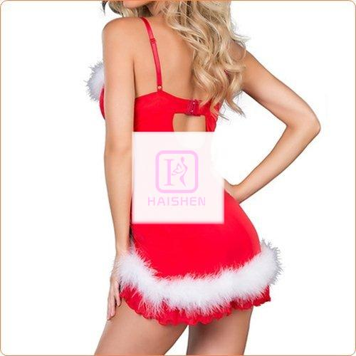 New Christmas Role Play Dancing Dress Costume