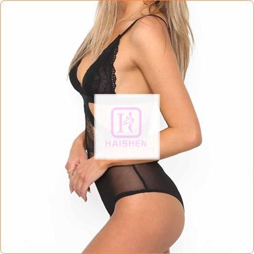 New Design Low-cut Hollowed-out One Piece Night Suit