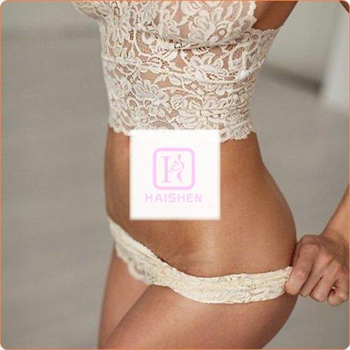 Women Pure Lace See-through Underwear Suit