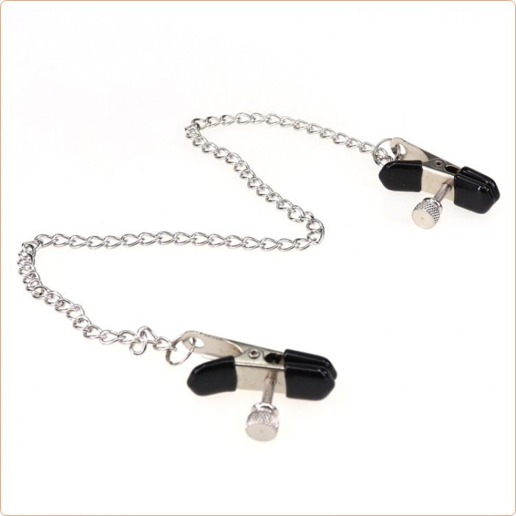 Crab Nipple Clamp With Chain