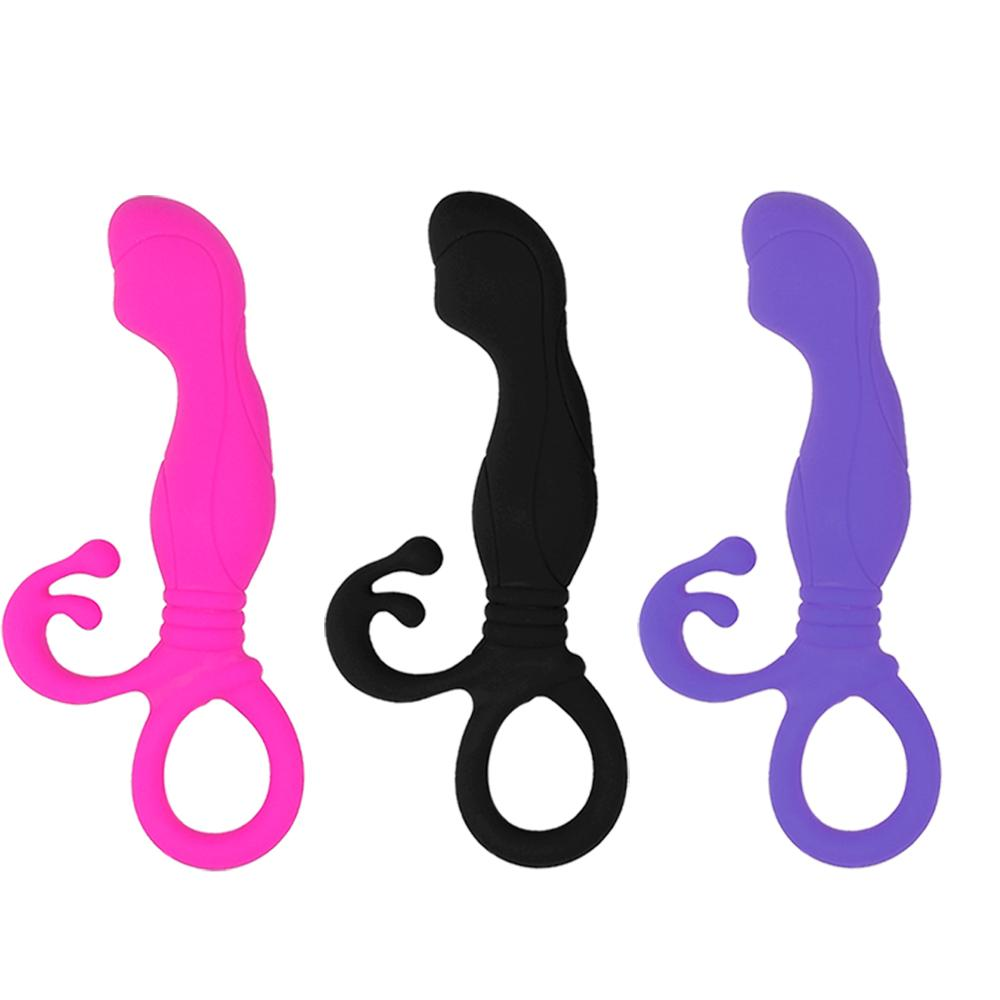 Medical Silicone Soft Touch Non-Vibration Sucker Little Ladies Anal Butt Plug