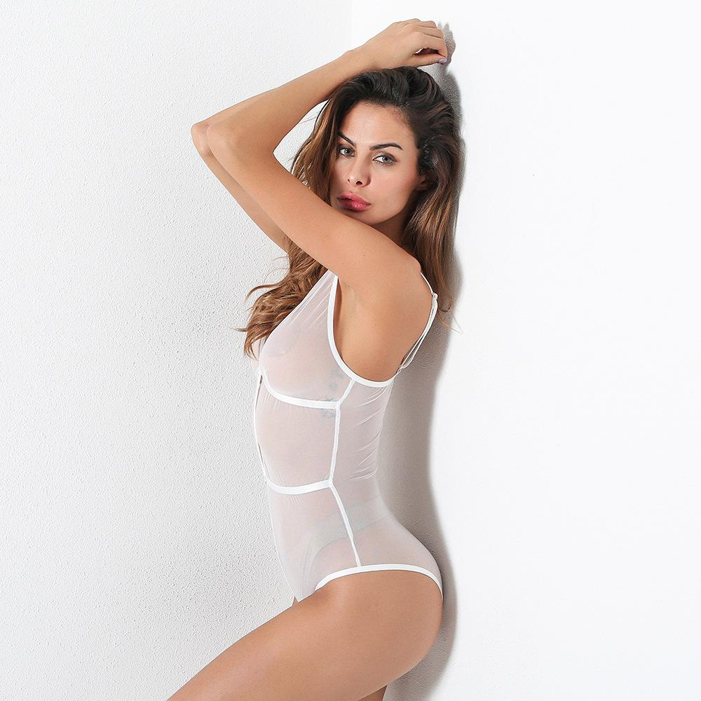 Autumn New Product Hot Sale Sexy Body Shaping Perspective Ladies One-Piece Suit Sex Freedom Chinese Sexy Girl Underw