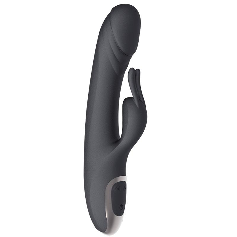 Heating rechargeable waterproof silicone g-spot rabbit women sexy toys vibrator fo