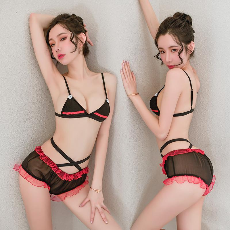 Explosions Extreme Hot Sexy Lingerie Maid Uniform Japanese Mature Women Sexy Tra