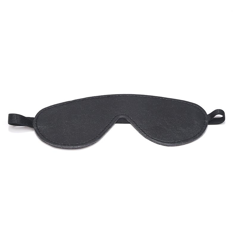 Manufacturers Direct PU Leather Fun Eye Mask Husband and Wife Boudoir Temptation Blindfold Forei