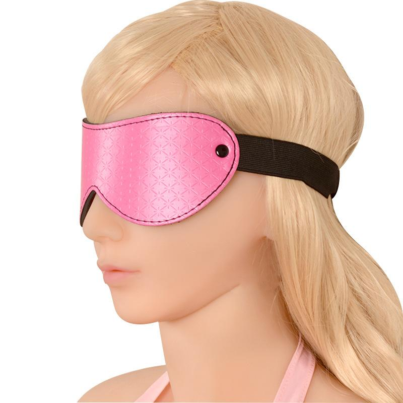 Single Party Sexy Ladies Leather Eye Masks with Vein for Female S
