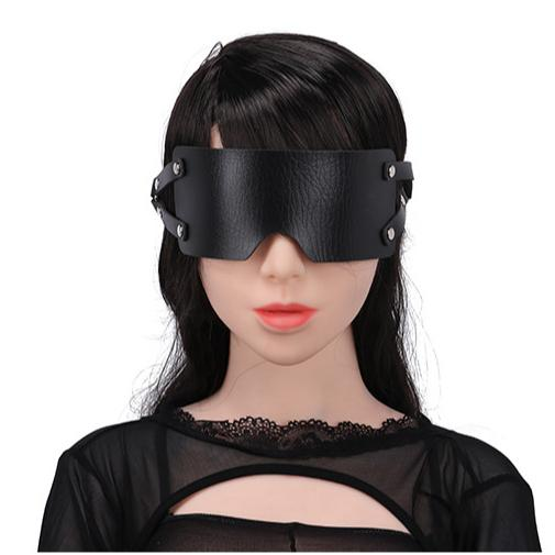 New Design Leather Materials Colorful Eye Masks fo