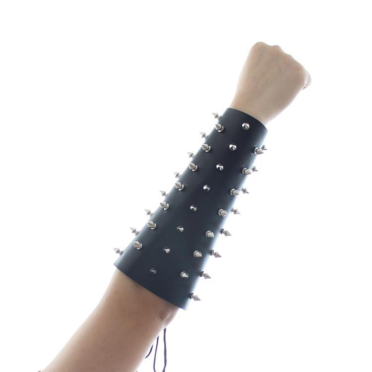 Real Leather Belt Studs Tied Arms Restra