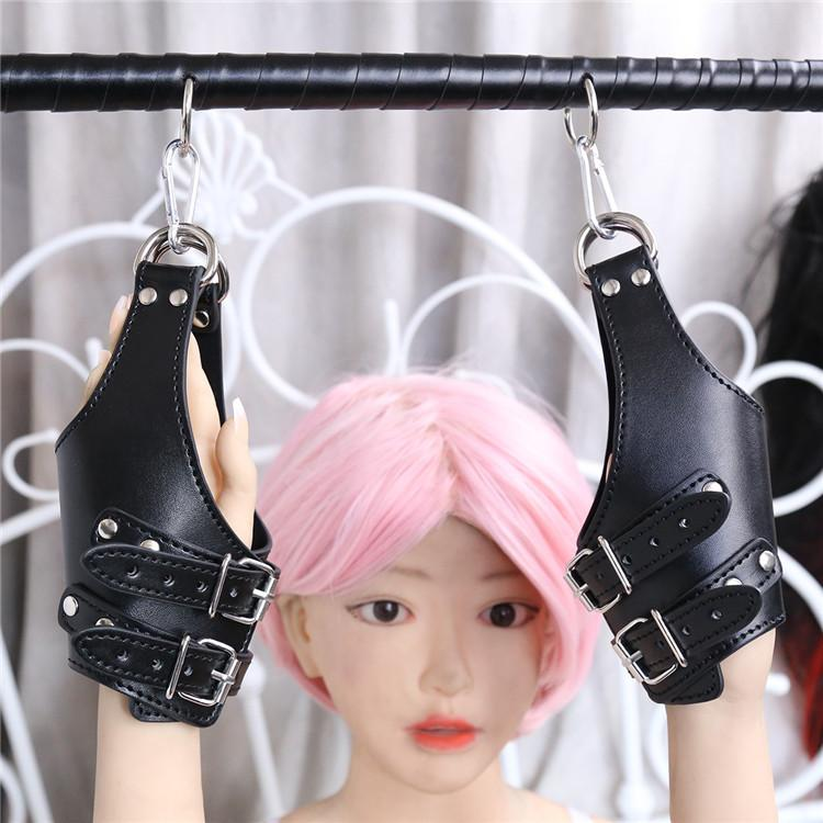 Adult Sexy Products Cheap bdsm handcuffs of Sex Leather H
