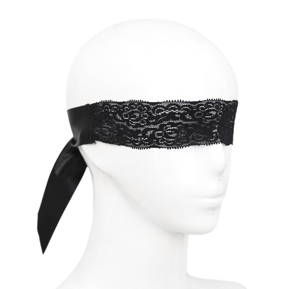 sexy women black Mysterious Lace Mask for