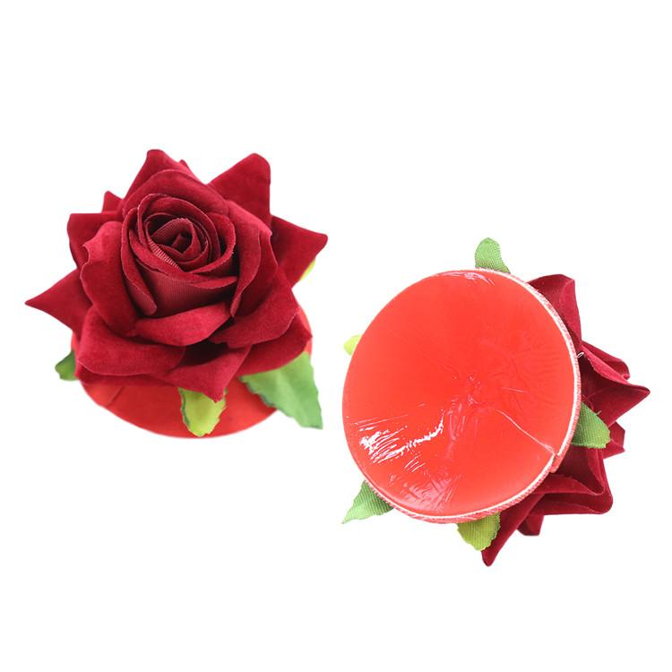 Rose Silicone Nipple Covers Adult Sex