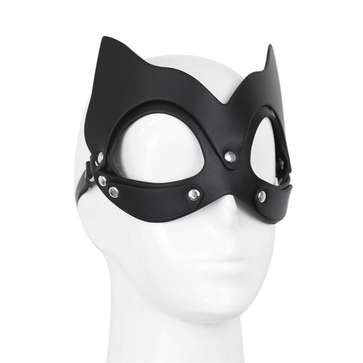 Sexy Cat Ear Eye Mask Cosplay Mask For Bondage Sex Toy