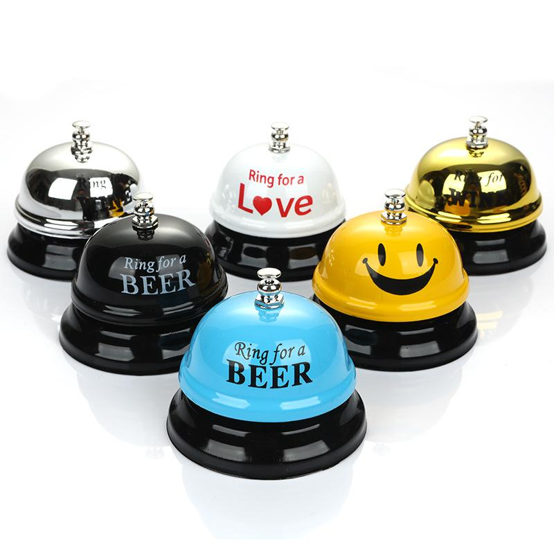 Candy Color Metal Wireless Bell Sex Toys Ring Bell for SM Adu