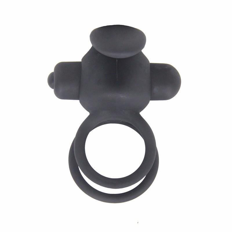 10 Speed Vibration Silicone vibrator Cock Ring Sex Toy Delay Ejaculation For Man Vibrator