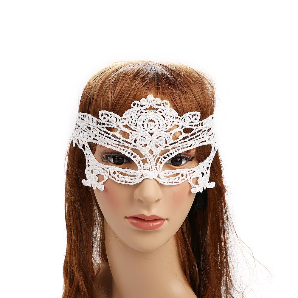 Party Games Sexy Ladies Lace Eye Mask Private Label Silk Luxury Eye Masks