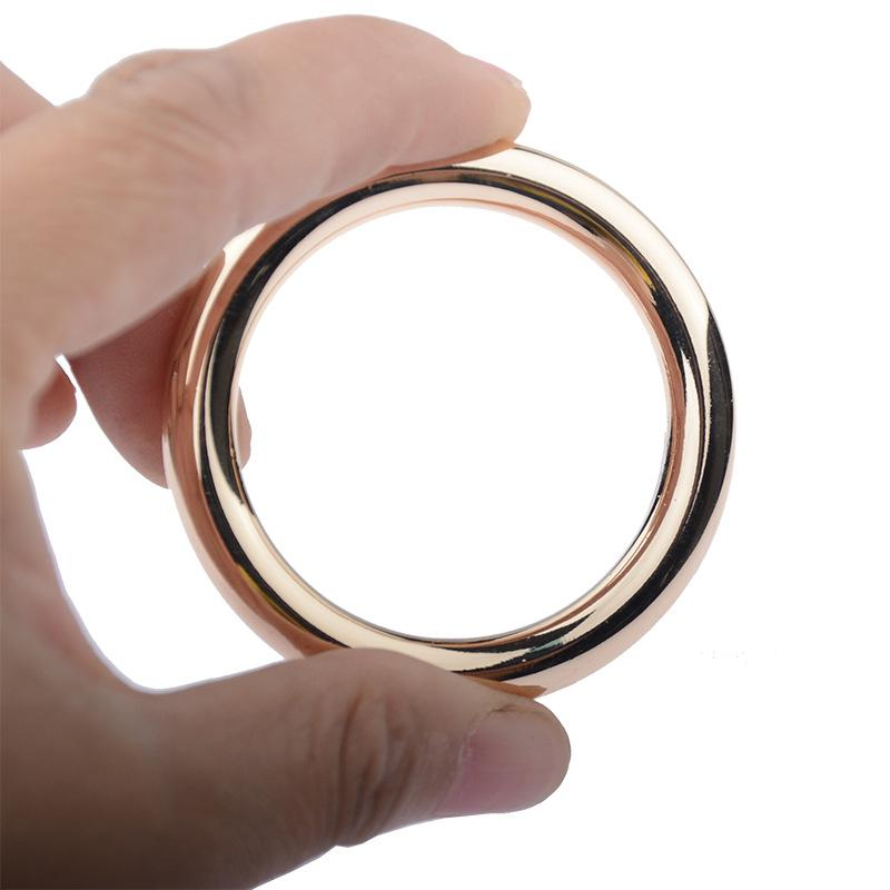 Metal Cock Ring Sex Toy Delay Ejaculation For Man