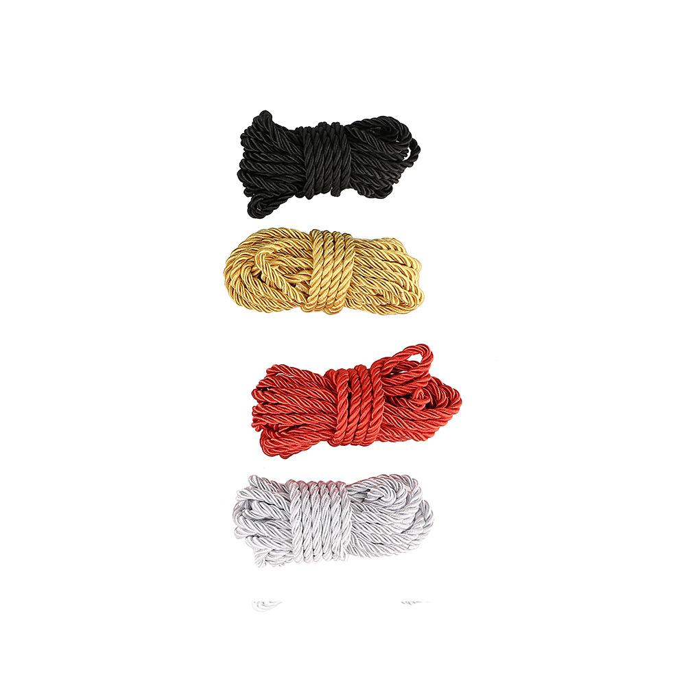 Erotic Fetish Rope Toys New Sexy Rope Sexy Bondage 5 Meter Cotton Rope Binding Restraints for F