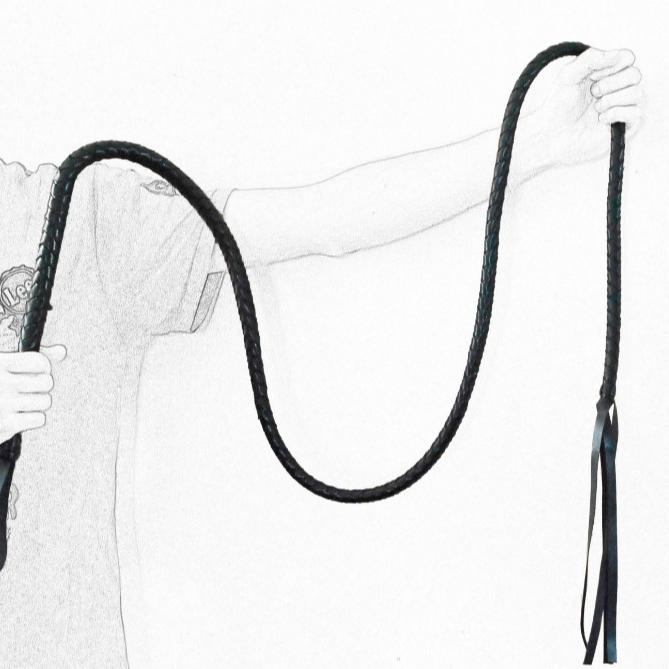 Faux Leather Whip With Long Size Sex Kits for Coupls Play Sex Accessories Whips Tailless Whip