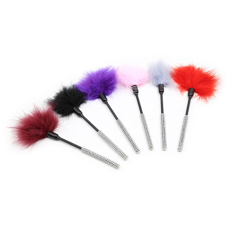 Flirtation Feather feathers sex toy with lots of Diamonds For Cou