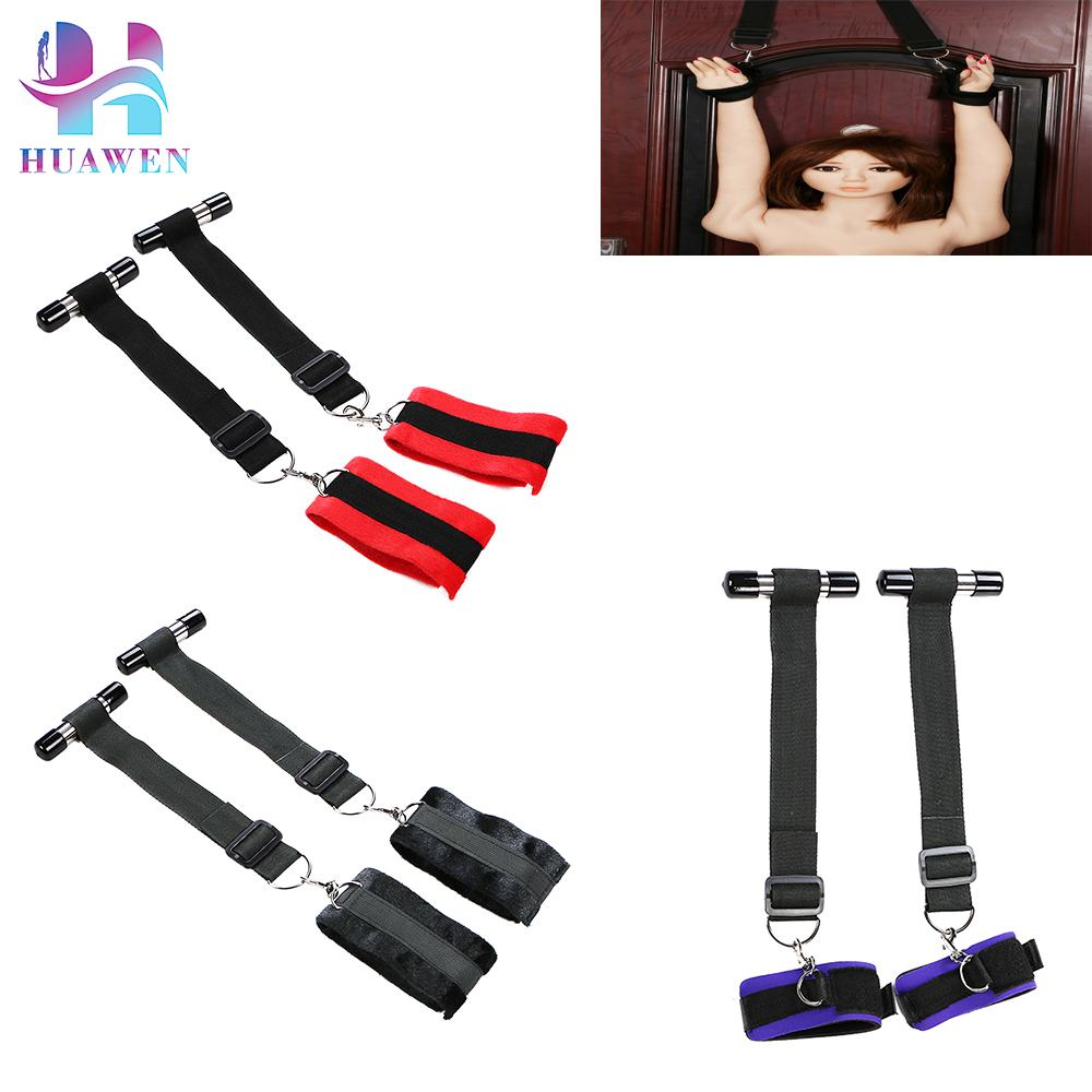 Flirting Toys Couples Exciting Game Tools Door Hanging Swing Bondage f
