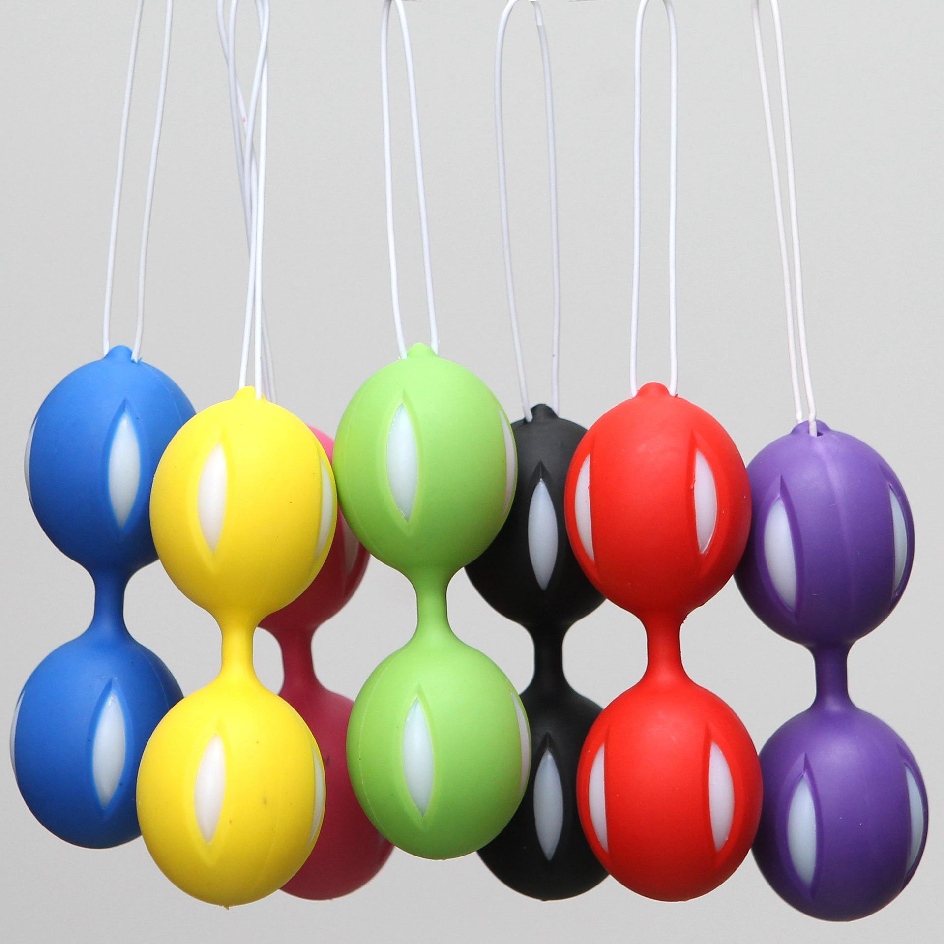Hot Selling Women Sex Toy Silicone Kegel Ball Vaginal Ball Anal Egg Vagina Exc