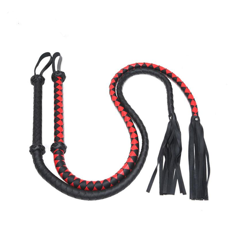 Adult Sex Toys Environmental Protection Leather Whips Alternative Toy Lengthen Floggers f