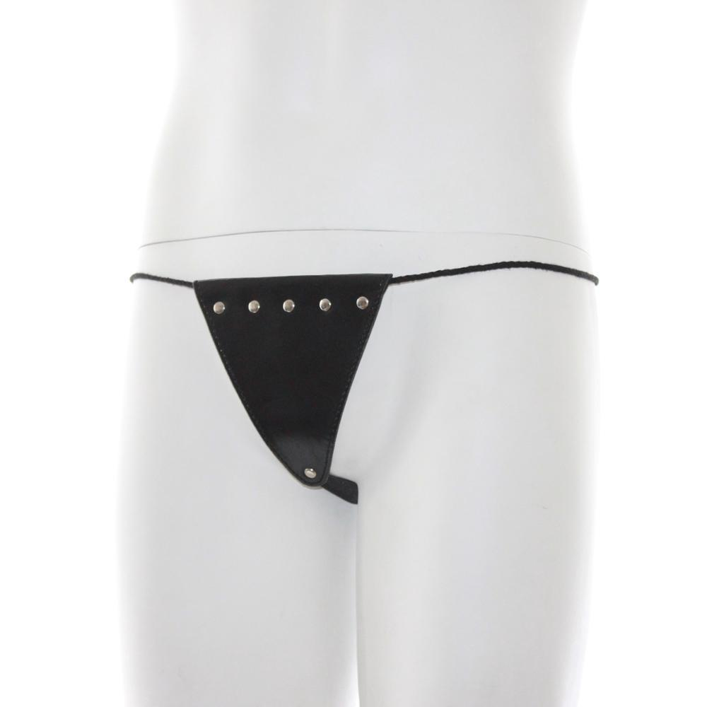 Sex Toys Harness small black sex leather Underpants f