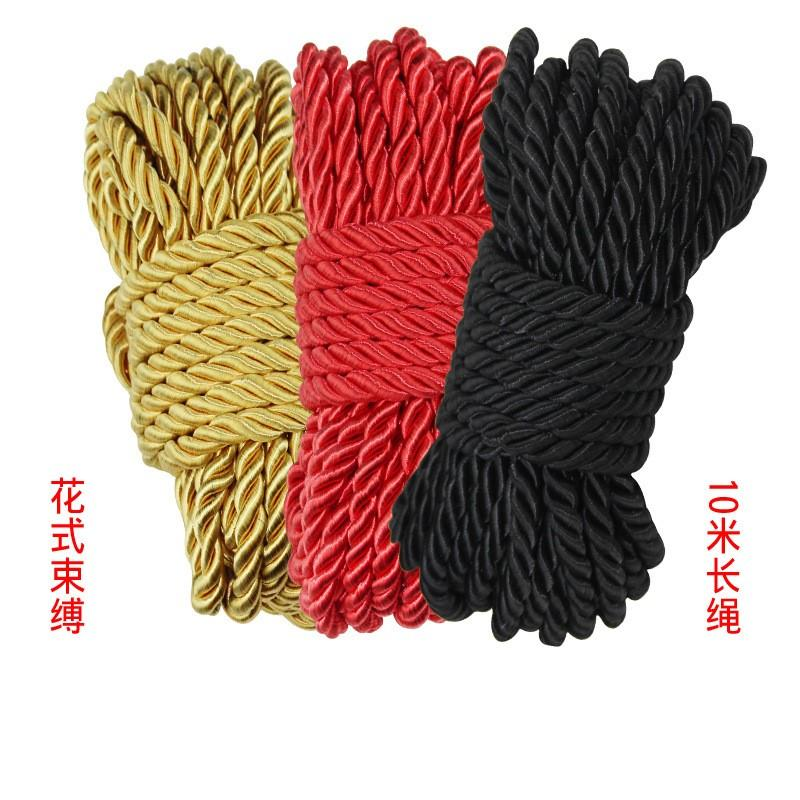 Flirting Binding Silk Rope 10 Meters Soft and Delicate Without Hurting The Sk