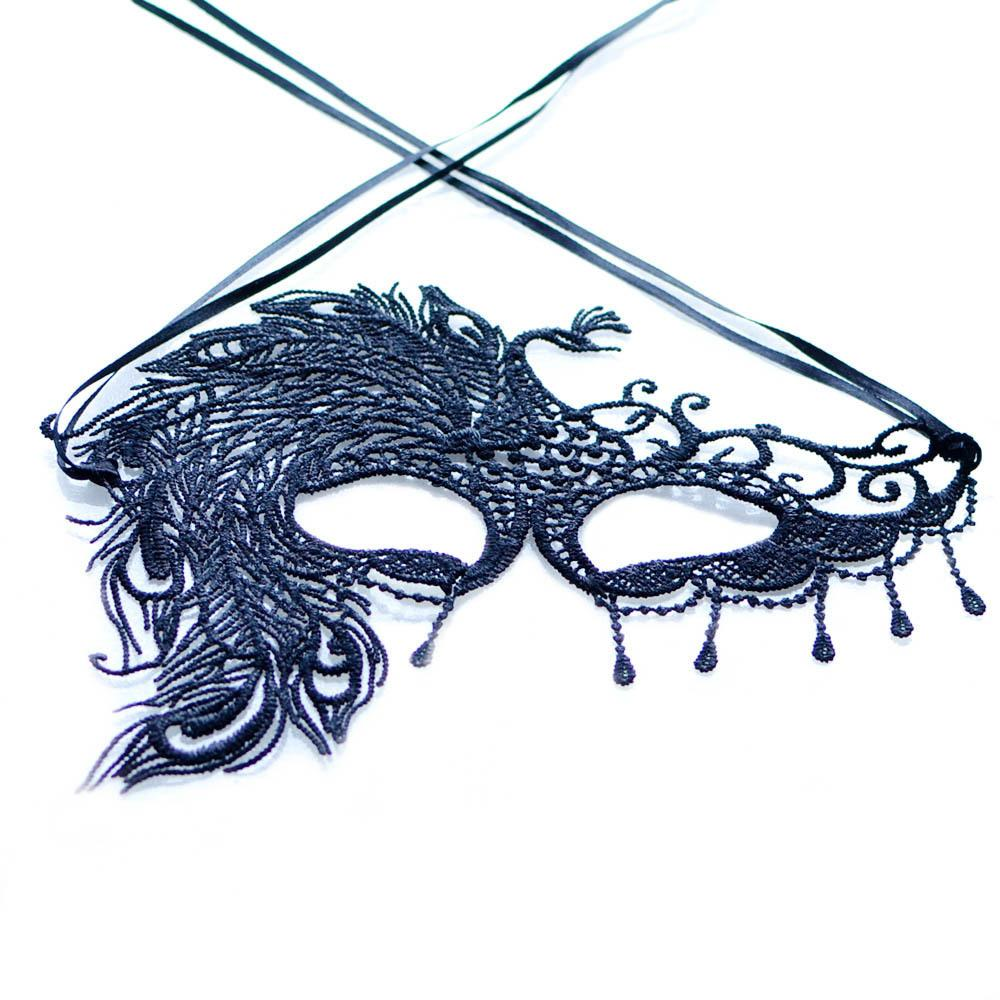 Contemporary Females Single Party SM Games Lace Eye Masks One