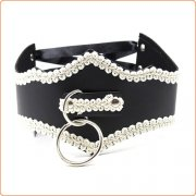 Adjustable O Ring Lace Collar
