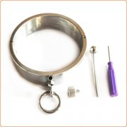 Adjustable Raising Head Stainless Steel Collar