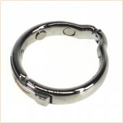 Adjustable Steel Cock Ring