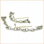 Allen Screw Chain For Wrist And Ankle Cuffs
