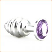 Aluminum Thread Butt Plug - 3 Size